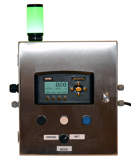 Hardy Integrated Panel Solution for process weighing