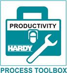 The Hardy Process Toolbox is a set of productivity tools that support process weighing functions. Each tool saves time, increases accuracy, improves efficiency or reduces risk in process weighing applications.